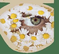 Kaz_Creations Paysage Scenery Eye Eyes Flowers