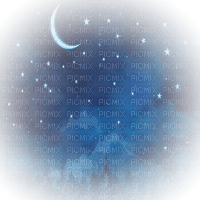 moon sky  night lune ciel nuit paysage