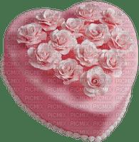 Kaz_Creations Pink Heart Cake