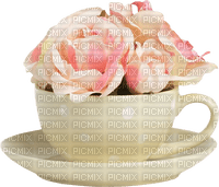 Fleurs.Flowers.Mug.Pink.rose.Victoriabea
