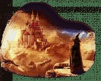 fantaisie paysage sorciere fantasy wizzard