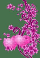 pink hearts deco  BORDER