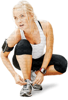 Kaz_Creations  Woman Femme Sports Fitness