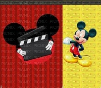 image encre bonne anniversaire color effet  Mickey Disney edited by me