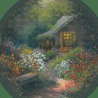 house in forest garden maison forêt jardin