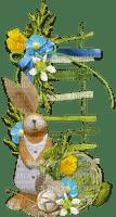 lapin pâques easter bunny deco border