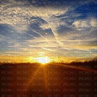 sunset sky bg