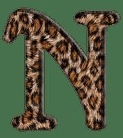 Lettre N. Leopard