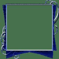 cadre bleu transparent frame blue