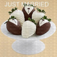 image encre chocolate wedding chocolate strawberries just married edited by me