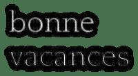loly33 TEXTE BONNE VACANCES