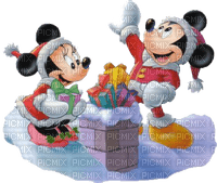 mickey minnie on the roof christmas noel