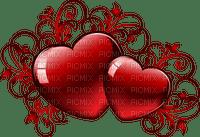 valentin  vintage hearts coeur