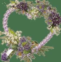vintage flower frame louise