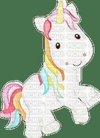Dessin adorable licorne colored unicorn sketch
