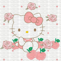 Pomme fond hello kitty background apple