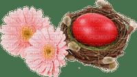 déco de pâques gif animation baby fleurs paysage papillon Adam64