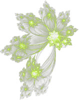 vert etoile deco green stars
