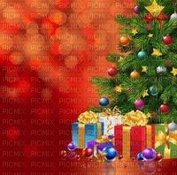 image encre couleur texture sapin boules cadeaux effet edited by me