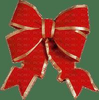 Christmas Winter decoration red ribbon_Noël hiver décoration