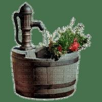 jardin pomp â eau water pump deco garden