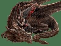 elfe et dragon