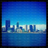 blue city sky