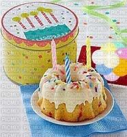 Bon anniversaire  Gâteau aux bougies la pâtisserie
