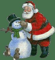 loly33 bonhomme de neige  père noel