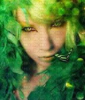 image encre couleur femme visage papillon edited by me