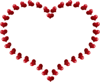 Kaz_Creations Hearts Love Red St.Valentines Day