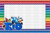multicolore image encre bon anniversaire Rio color effet vagues  edited by me