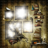 fantasy room frame cadre background effect fond  hintergrund