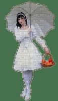 minou-woman with umbrella-Femme, parapluie-donna con l'ombrello-kvinna med paraply