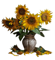 autumn _tournesol-Sunflower_automne décoration__ Blue DREAM 70