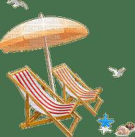 deck chair stuhl chaise  furniture sea beach plage tube parasol umbrella bouclier   strand summer ete
