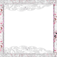 soave frame vintage lace pink white