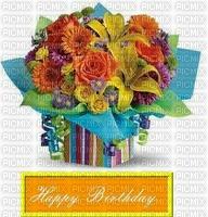 Bon anniversaire fleurs bonne journée