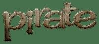 Kaz_Creations Deco  Logo Text Pirate