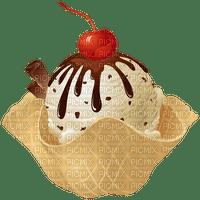 image encre cornet de glacee bon anniversaire chocolat vanille edited by me
