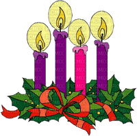 christmas candle wreath Advent 4.
