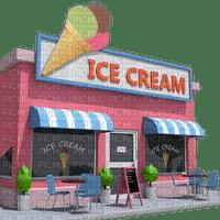 ice cream restaurant