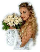 Kaz_Creations Woman Femme Wedding Bride Flowers