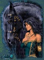 femme cheval.