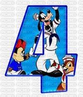 image encre numéro 4 Disney bon anniversaire edited by me