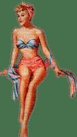 summer woman pinup femme