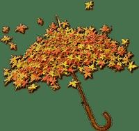 Herbst, Schirm, Blätter