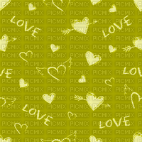Love, Heart, Hearts, Yellow, Deco, Background, Backgrounds - Jitter.Bug.Girl