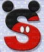 image encre lettre S Mickey Disney edited by me