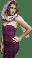 Femme violet- Woman purple